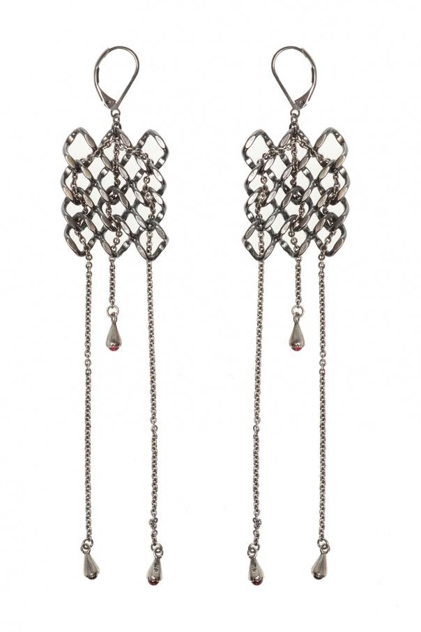 Midgard Paris 'Pulsar' brass earrings