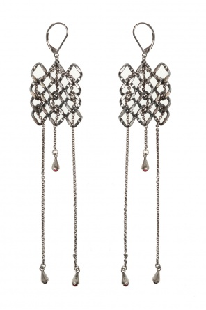 'pulsar' brass earrings od Midgard Paris