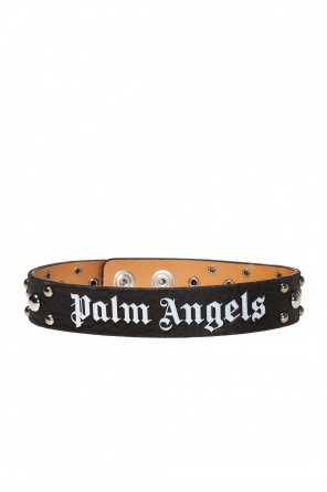 Leather choker od Palm Angels