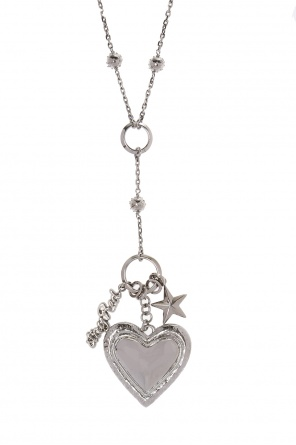 Necklace with a heart motif od Valentino Red