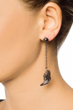 Earring with a wing motif od Valentino Red