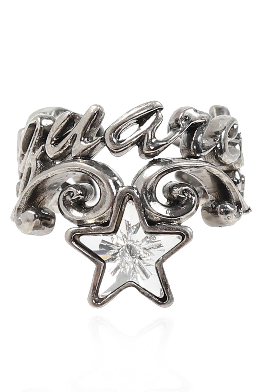 Dsquared2 Pierścień z kryształem