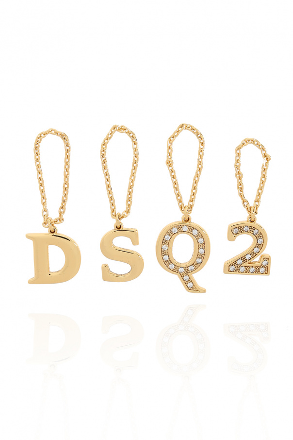 Dsquared2 戒指套装四枚