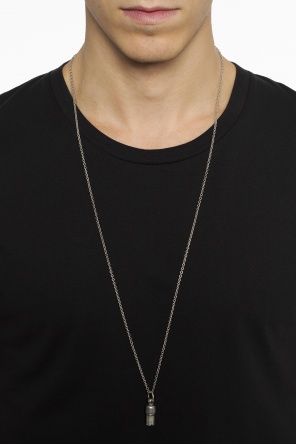 Necklace with removable dog tag od Maison Margiela