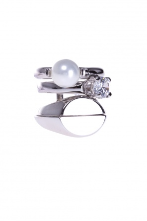 Ring with pearl od Maison Margiela