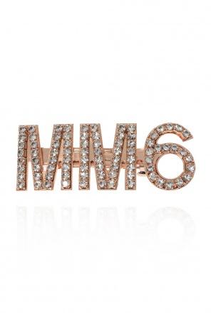 Logo hair clip od MM6 Maison Margiela