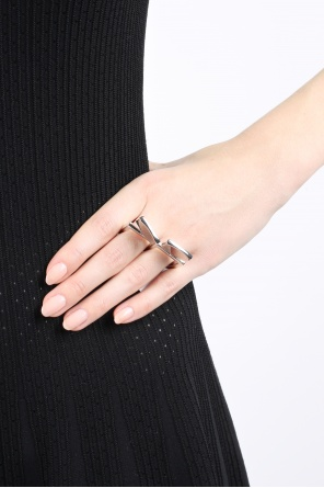 Two finger ring od MM6 Maison Margiela