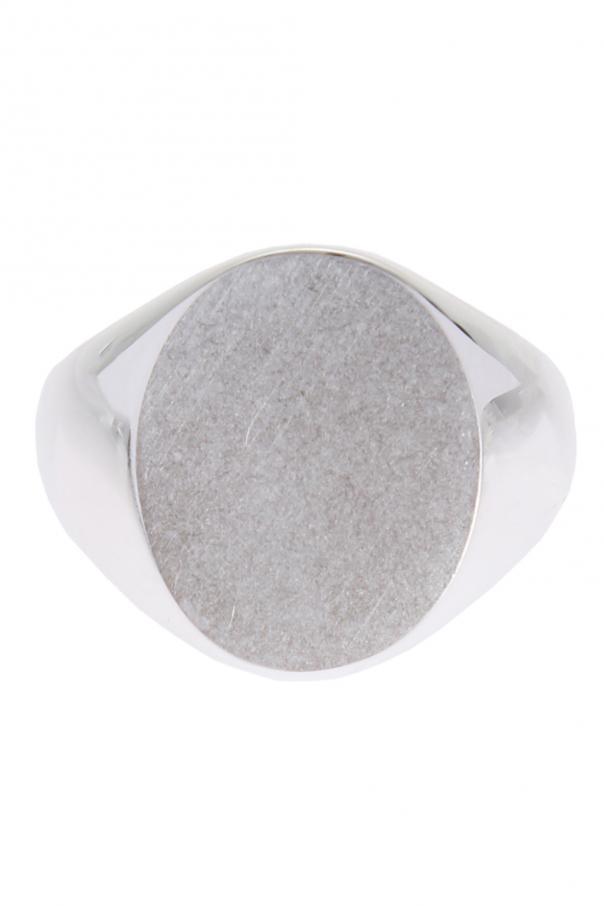 Maison Margiela Srebrny pierścień