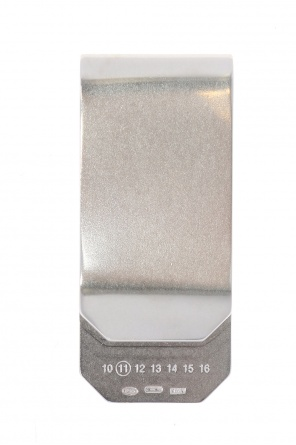Silver money clip od Maison Margiela