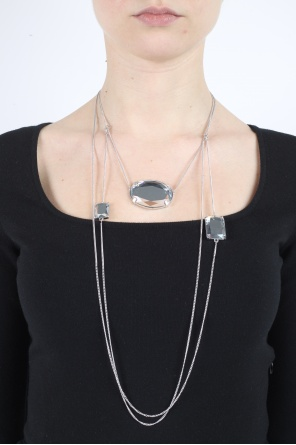 Three crystals necklace od Maison Margiela