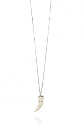 Brass necklace with pendant od Isabel Marant