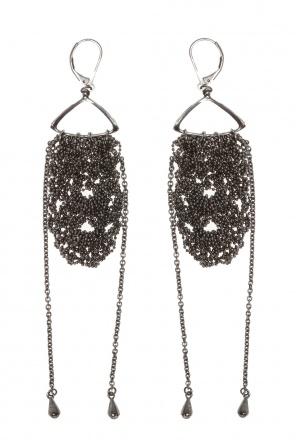 'school uniform' brass earrings od Midgard Paris