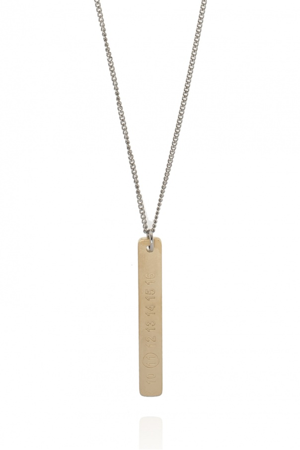 Maison Margiela Logo necklace