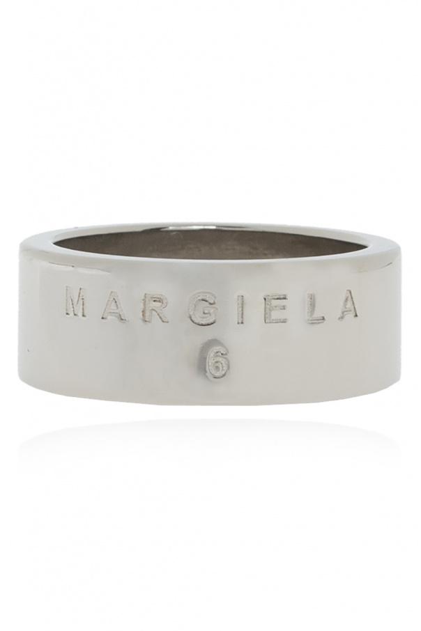 MM6 Maison Margiela Ring with logo