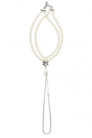 Necklace with double closure od MM6 Maison Margiela