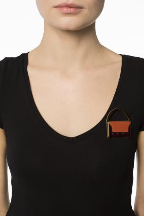 Bag-shaped brooch od Marni