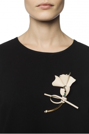 Flower-shaped brooch od Marni