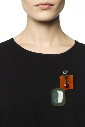 Set of 2 brooches od Marni