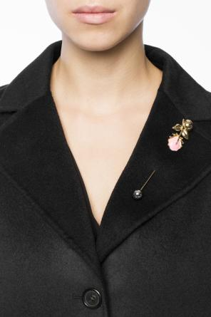 Pin with floral motif od Marni