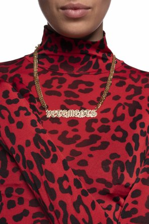 Logo necklace od Vetements