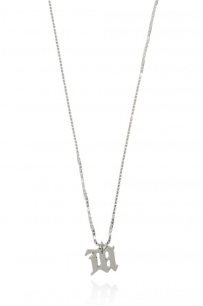 'the m' necklace with logo od MISBHV
