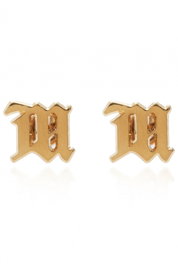 MISBHV 'M' earrings