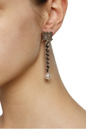 Logo earrings od MISBHV