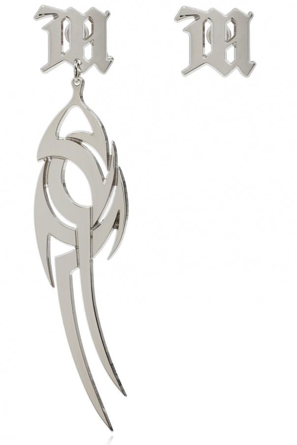 MISBHV 'M' earrings