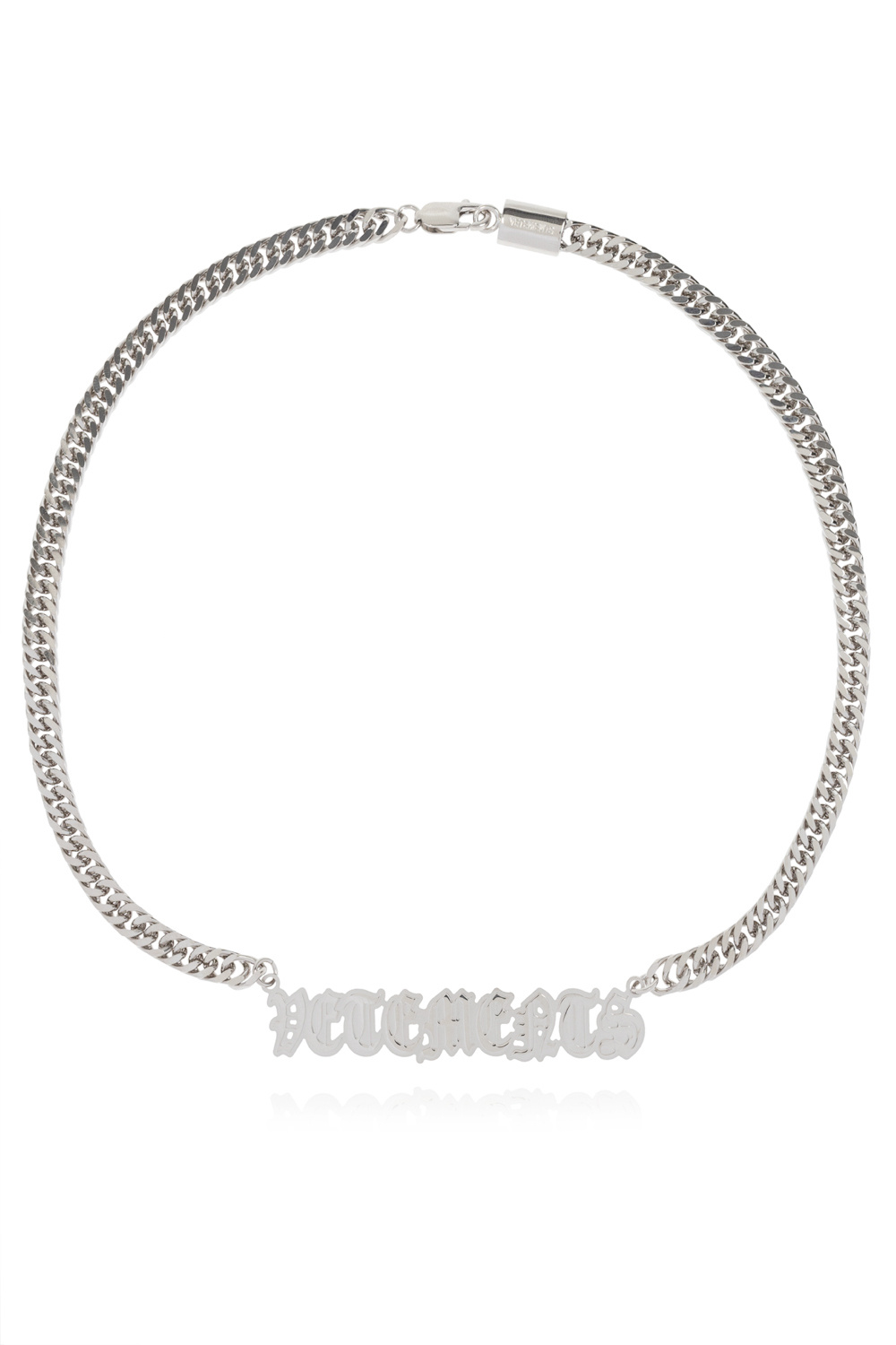 VETEMENTS Necklace with logo