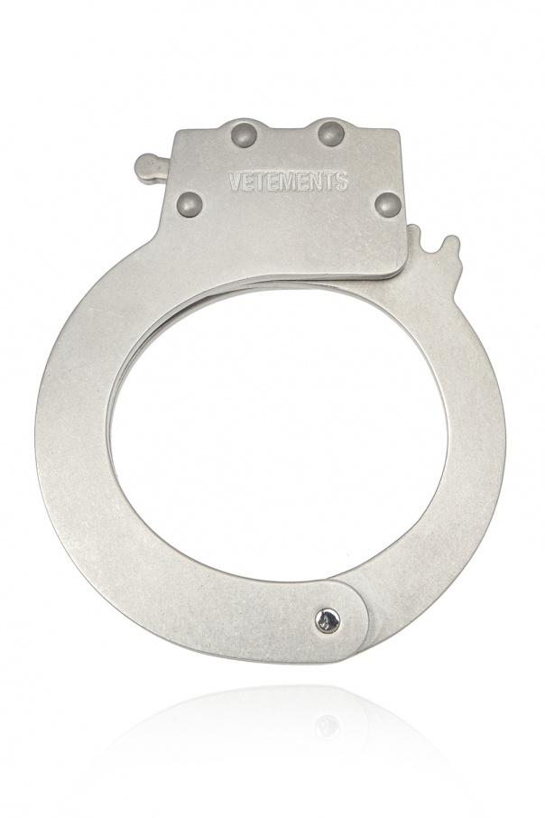 Vetements Logo-embossed bracelet