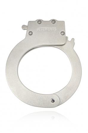 Logo-embossed bracelet od Vetements