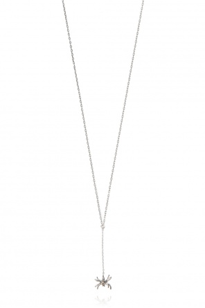 Silver charm necklace od Undercover