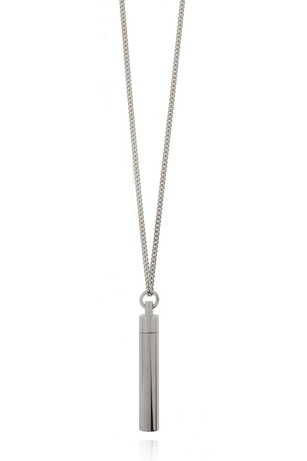 VETEMENTS 'Powder' necklace with charm