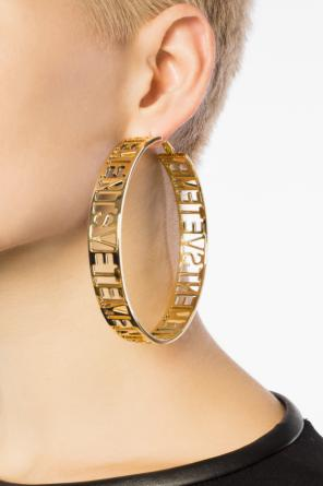 Logo earing od Vetements