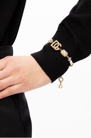 Mosiężna bransoleta od Dolce & Gabbana