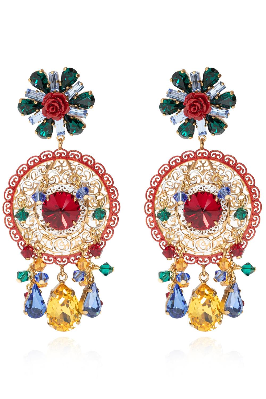 Dolce & Gabbana 垂挂式装饰耳环