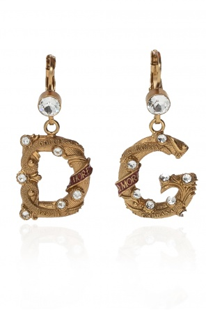 Logo earrings od Dolce & Gabbana