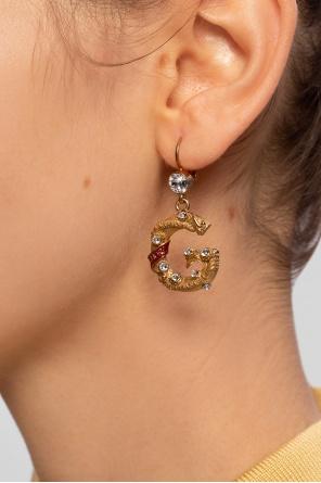 Kolczyki z logo od Dolce & Gabbana