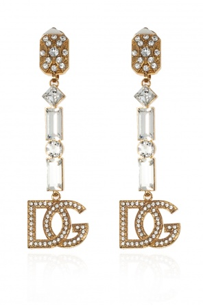 Embellished earrings od Dolce & Gabbana