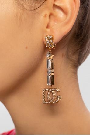 Kolczyki z aplikacją od Dolce & Gabbana
