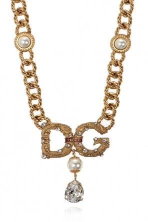 Mosiężny naszyjnik od Dolce & Gabbana