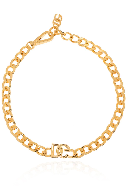 Dolce & Gabbana logo项链