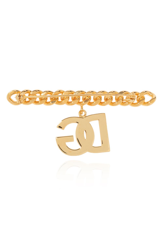 Dolce & Gabbana logo胸针