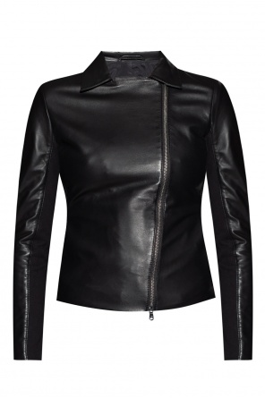 Leather jacket od Emporio Armani