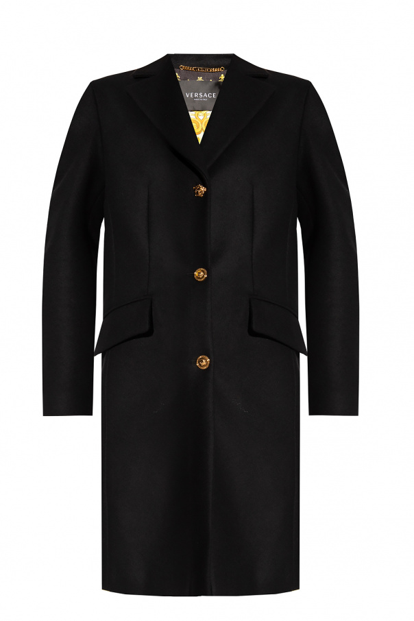Versace Coat with decorative buttons