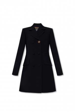 Double-breasted coat od Versace