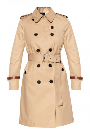 Double-breasted trench coat od Coach
