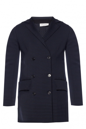Striped double-breasted blazer od Sonia Rykiel