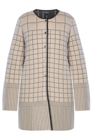Cropped coat od Salvatore Ferragamo
