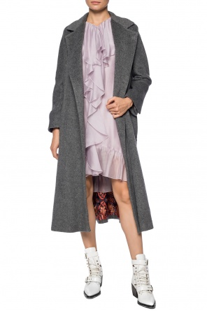 Coat with open flaps od Etro